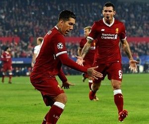 Liverpool, ucl, and roberto firmino image