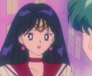 sailor moon, sailor mars, and anime image