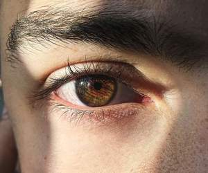 boy, eye, and eyes image