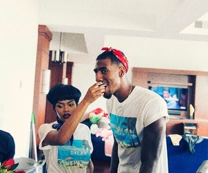 teyana taylor and iman shumpert image