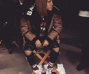 teyana taylor, fashion, and outfit image