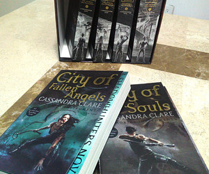 books, the mortal instruments, and book series image