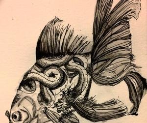 badass, black and white, and dragon image