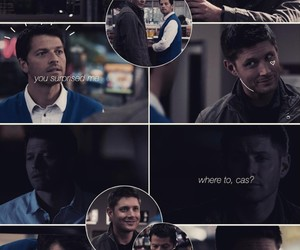 dean winchester, edit, and fandom image