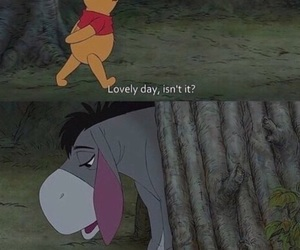 sad, winnie the pooh, and quotes image