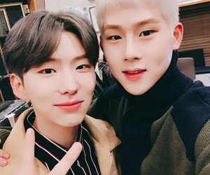 monsta x, kihyun, and jooheon image