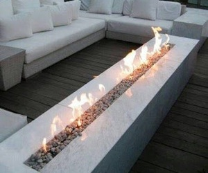 fire, luxury, and white image