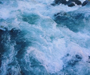 blue, ocean, and aesthetic image