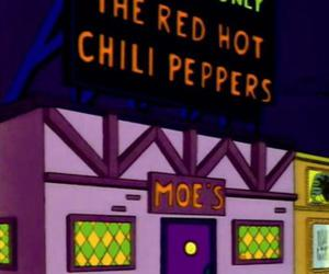 red hot chili peppers, moe's, and rhcp image