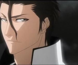 anime, bleach, and aizen image