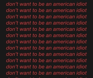 green day, Lyrics, and american idiot image