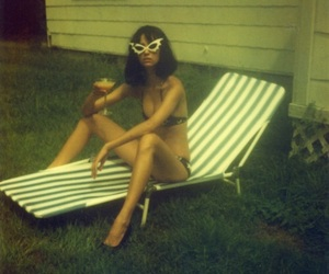 60s, girly, and hippie image
