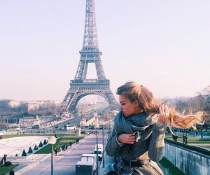 nature, paris, and cold image