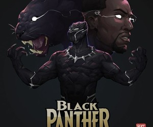 black panther, comics, and Marvel image
