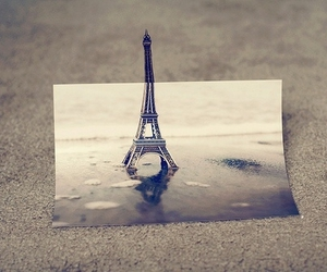 paris, photography, and eiffel tower image