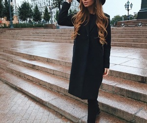 hat, lifestyle, and lady girl image