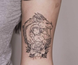 spirited away and tattoo image