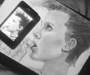 actress, art, and drawing image