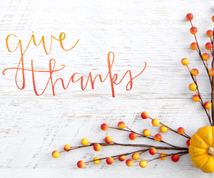 thanksgiving, give thanks, and thanksgiving day image