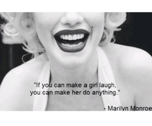 Marilyn Monroe, quotes, and girl image