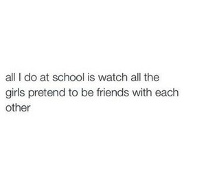 school, quotes, and friends image