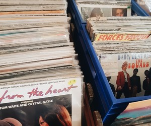 record shop, record store, and records image