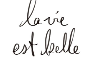 french, beautiful, and life image