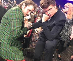 ansel elgort and post malone image
