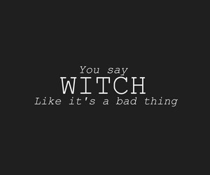 witch and quotes image