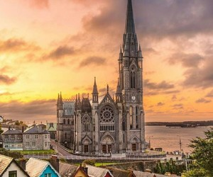 beautiful, bells, and cathedral image