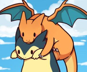 pokemon and charizard image