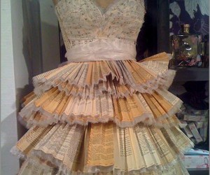 dress, book, and harry potter image