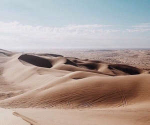 theme, blue, and desert image
