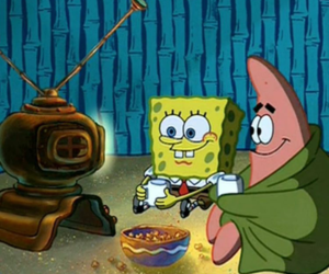 cartoon, friends, and bob esponja image