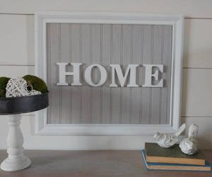 etsy, home sweet home, and large wood sign image