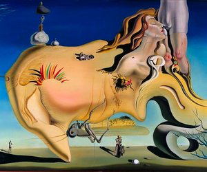 art, salvador dali, and surrealism image