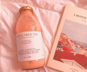 aesthetic, book, and milk image
