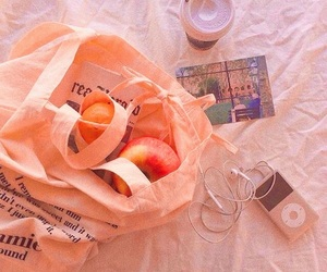aesthetic, theme, and peach image
