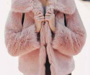 baby pink, pink, and fashion image