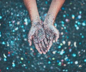 glitter, hands, and photography image