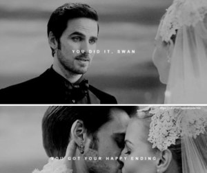 ️ouat, emma swan, and killian jones image
