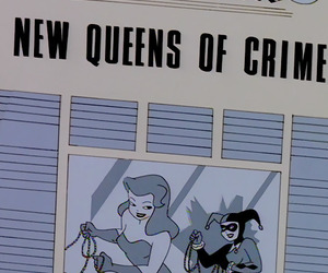 batman, pamela isley, and comics image