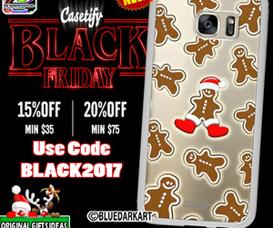 gingerbreadman, samsunggalaxycase, and uniquegifts image