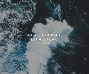 courage, fear, and feelings image