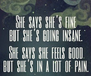 quotes, sad, and pain image