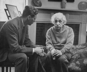 einstein, Albert Einstein, and black and white image