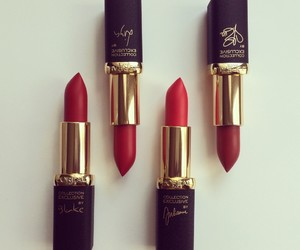 article, beauty, and lipstick image