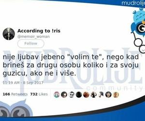 balkan, twitter, and volim te image