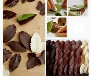 beautiful, chocolate, and manicure image