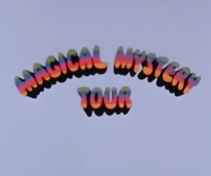 70s, magical mystery tour, and movie image